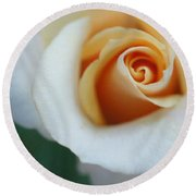 Hazy Rose Round Beach Towel