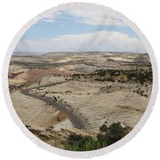 Head Of The Rocks - Scenic Byway 12 Round Beach Towel