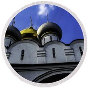Heavenly Look - Moscow - Russia Round Beach Towel