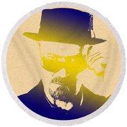 Heisenberg - 4 Round Beach Towel