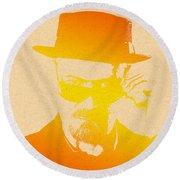 Heisenberg - 6 Round Beach Towel