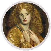 Helen Of Troy Round Beach Towel by Philip Ralley