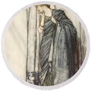 Helena, Illustration From Midsummer Round Beach Towel