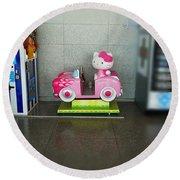 Hello Kitty Car Round Beach Towel