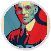 Henry Ford Round Beach Towel