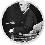 Herbert Henry Asquith (1852-1928) Round Beach Towel