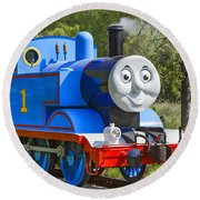 Here Comes Thomas The Train Round Beach Towel