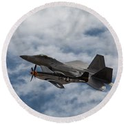 Heritage Flight Round Beach Towel