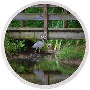 Heron 14-2 Round Beach Towel