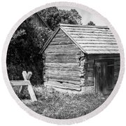 Hetchler House Shed Round Beach Towel