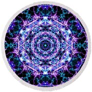 Hexagon Round Beach Towel