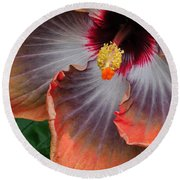 Hibiscus Key Largo Round Beach Towel