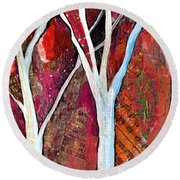 Hidden Forest I Round Beach Towel