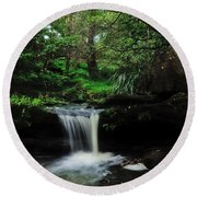 Hidden Rainforest Round Beach Towel
