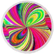 High Definition Color 1 Round Beach Towel