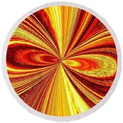High Definition Color 2 Round Beach Towel