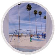 Higher  Round Beach Towel