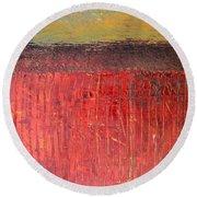 Highway Series - Cranberry Bog Round Beach Towel