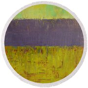 Highway Series - Lake Round Beach Towel