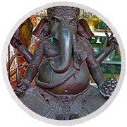 Hindu God Image At Religious Items Store In Bangkok-thailand Greeting Card