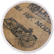 Hints On A Raleigh Round Beach Towel