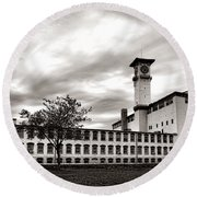 Historic Grundy Mills Round Beach Towel