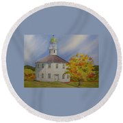 Historic Richmond Round Church Round Beach Towel