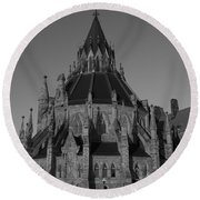 History In Every Corner.. Round Beach Towel