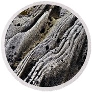 History Of Earth 11 Round Beach Towel