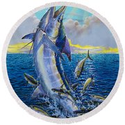 Hit And Miss Off0084 Round Beach Towel