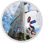 Ho Chi Minh City - Bitexco Financial Tower  Round Beach Towel