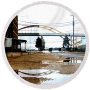 Hoan And Warehouse 2 Round Beach Towel