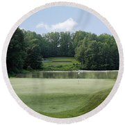 Hobbits Glen - Signature 11th Hole Round Beach Towel