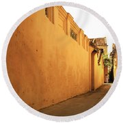 Hoi An Alley Round Beach Towel