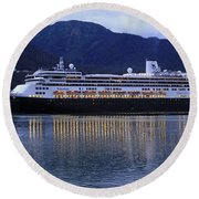 Holland America Volendam Round Beach Towel