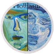 Holliman Round Beach Towel