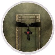 Holy Book Round Beach Towel