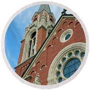 Holy Hill 3  Round Beach Towel
