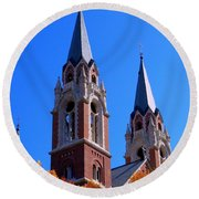 Holy Hill Round Beach Towel