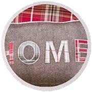 Home Cushion Round Beach Towel
