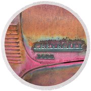 Homestead Chev Round Beach Towel