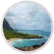 Honolulu Hi 10 Round Beach Towel