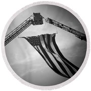 Honoring Those That Have Gone Before Round Beach Towel