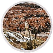 Hoodoos At Bryce Round Beach Towel