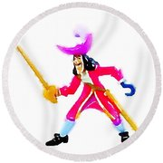 Hook Round Beach Towel