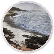Ho'okipa Beach Park 2 Round Beach Towel