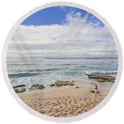 Ho'okipa Beach Park 9 Round Beach Towel
