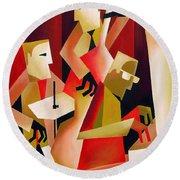 Horace Parlan Trio - Christiania - Copenhagen Round Beach Towel