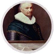 Horace Vere (1565-1635) Round Beach Towel