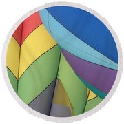 Hot Air Balloons 3 Round Beach Towel